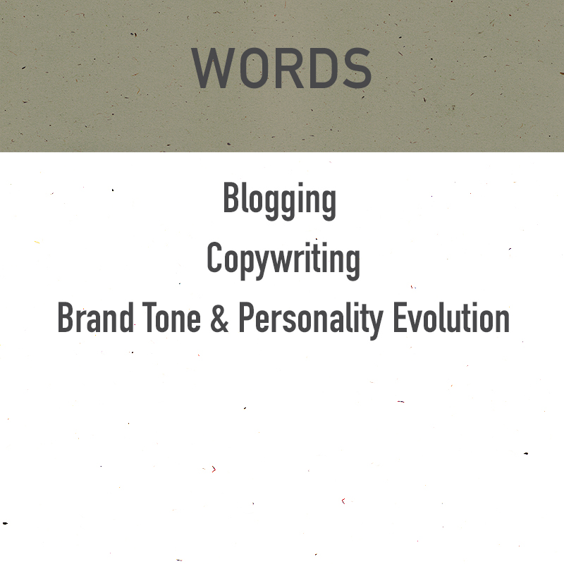blogging, copywriting, brand tone and personality evolution