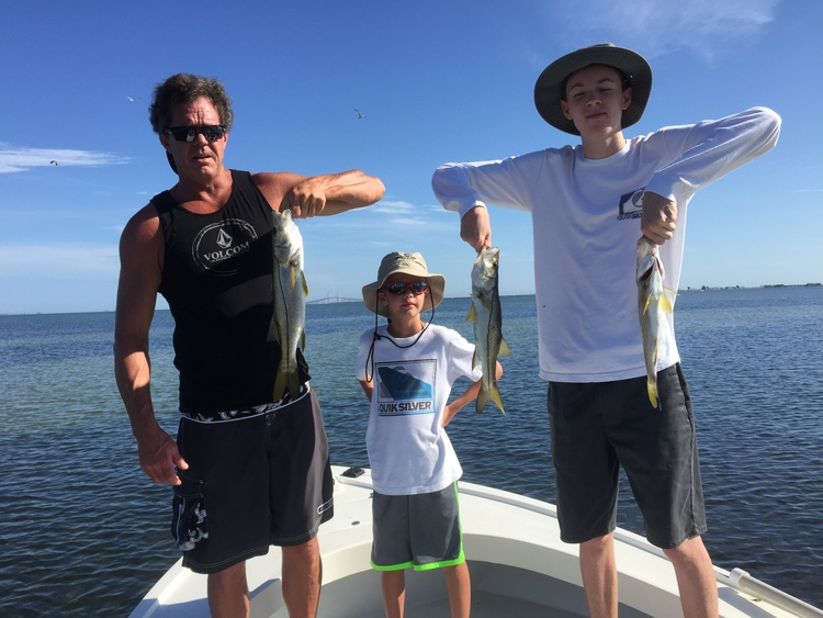 Tampa bay fishing charters report anna maria island florida for Bradenton fishing report