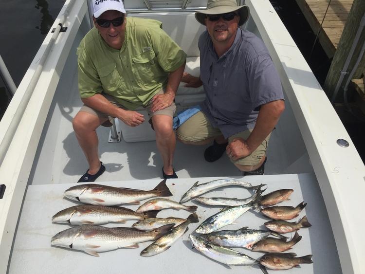 Redfish Mackerel Trout