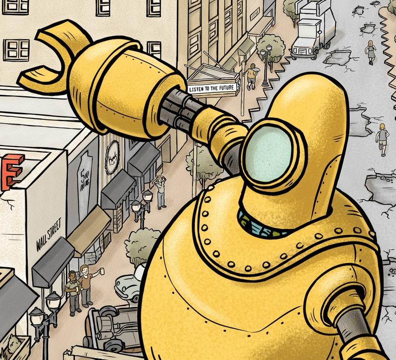 robot detail