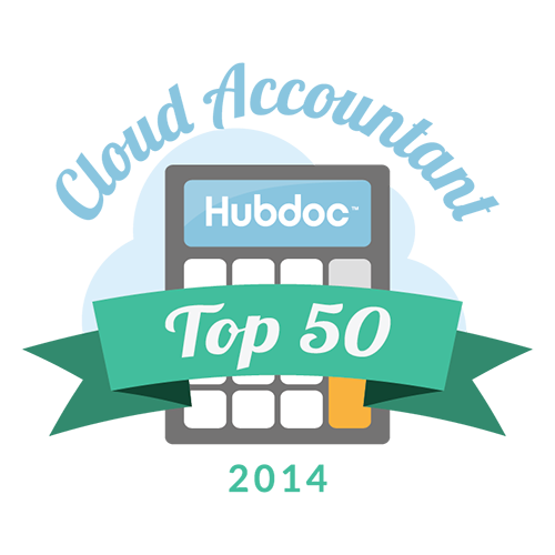 2014 Hubdoc Top 50 Cloud Accountant
