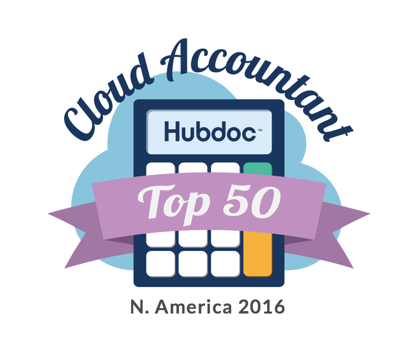 2016 Hubdoc Top 50 Cloud Accountant
