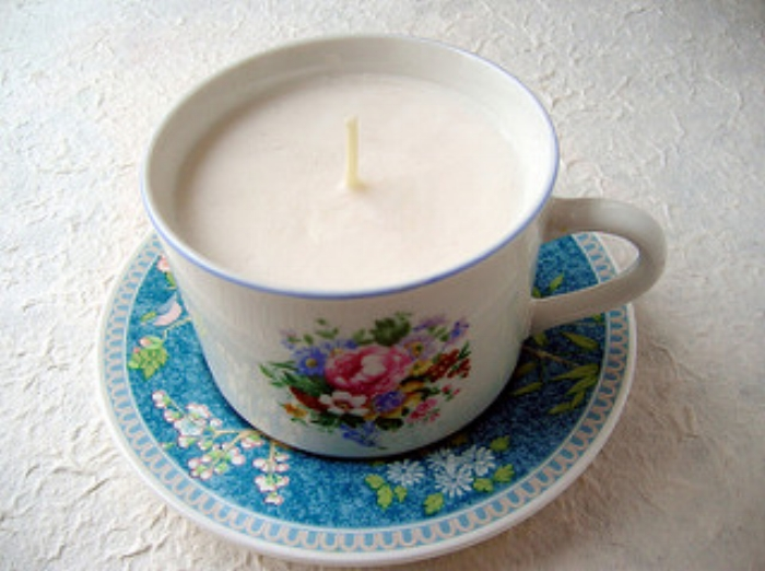 Handmade natural soya candle