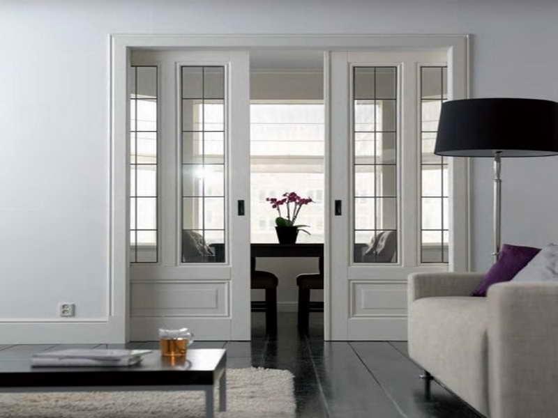 Wood frame sliding glass doors interior doors wood sliding patio doors - Gallery Doors By Murray