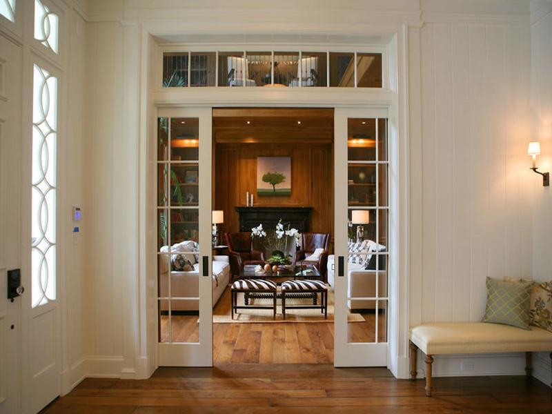 Interior Pocket Doors Classic Foyer Glass Lowes Pocket