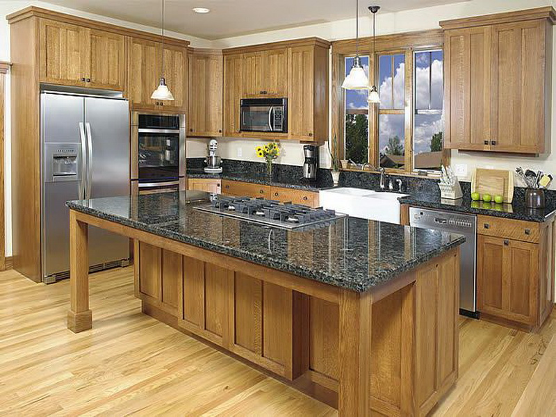 Refinishing Oak Kitchen Cabinets How Make The Best