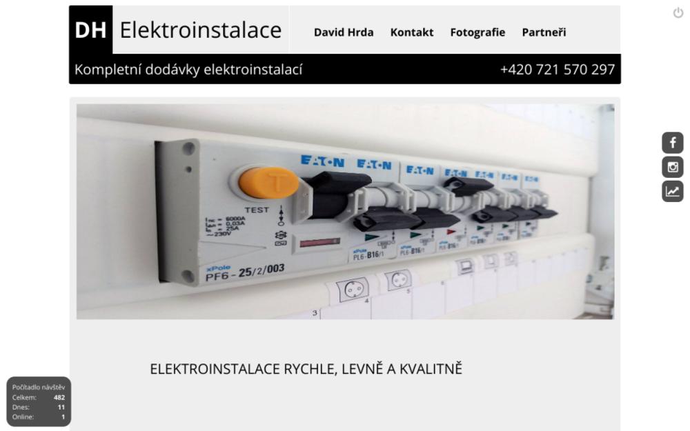 Váš projekt, naše práce! Stavíte nebo rekonstruujete byt či dům, potřebujete elektrikáře? Nabízím kompletní služby v oblasti realizace elektromontážních prací a to od zhotovení projektu přes zpracování technických řešení až po realizaci díla včetně servisu a údržby. - Purkyňova 254/37, 682 01 Vyškov, Česká republika