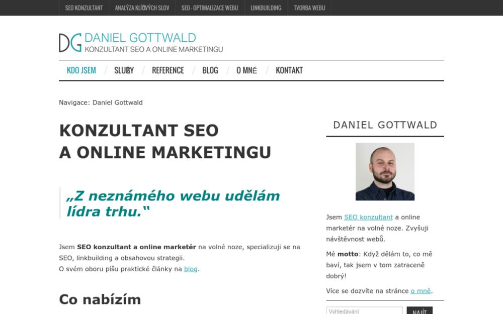 Jsem SEO konzultant a online marketér na volné noze, specializuji se na SEO, linkbuilding a obsahovou strategii. - Sousedíkova 969/1, 190 00 Praha, Česká republika