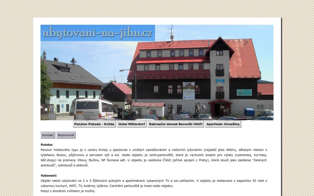 Náš penzion hotelového typu je v centru Kvildy u sjezdovek s umělým zasněžováním a večerním lyžováním (nejdelší přes 400 m), dětským vlekem s lyžařskou školou, půjčovnou a servisem lyží a kol. Vedle objektu je centr. parkoviště, které je výchozím bodem pro výlety - Kvilda 22, 384 93 Kvilda, Česká republika