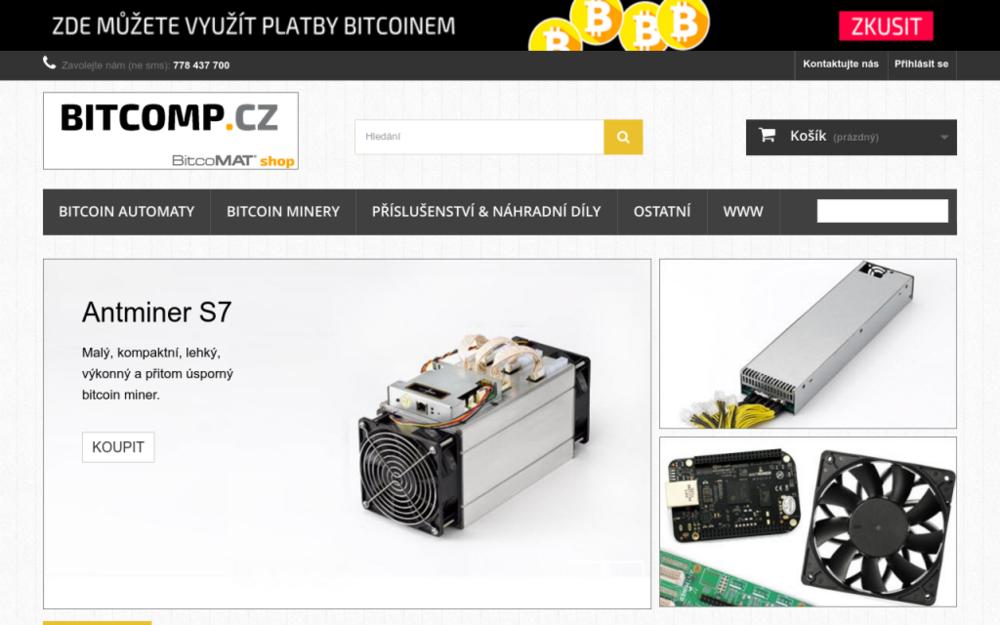 Patříme mezi první provozovatele Bitcoin automatů v ČR.Nabízíme bitcoin automaty, minery, příslušenství a náhradní díly. - Morseova 1126/5, 301 00 Plzeň, Česká republika