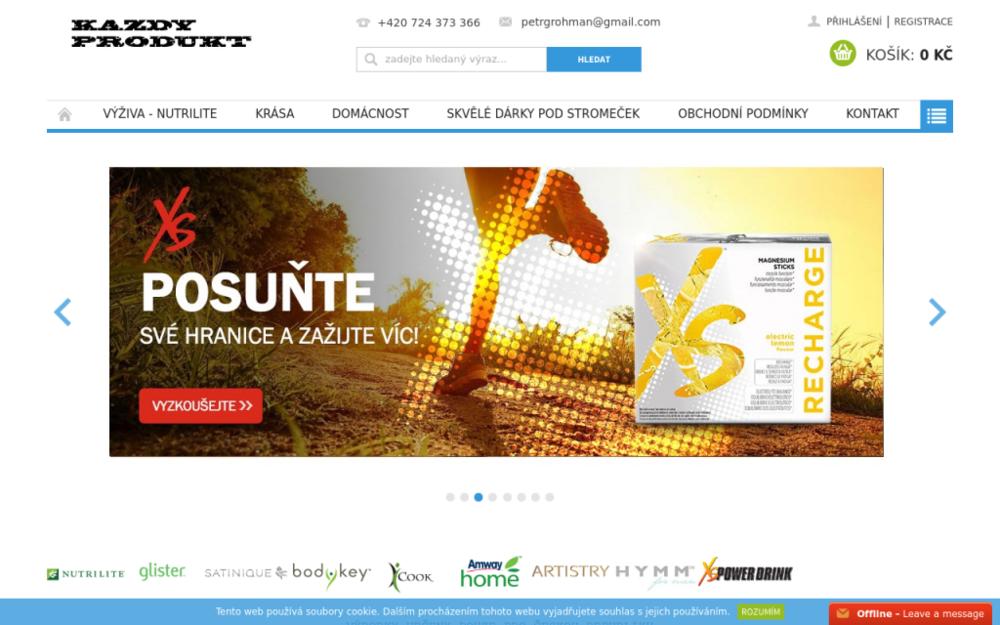 Nabízíme potravinové doplňky světové kvality exkluzivní značky NUTRILITE. - Dukelská 329/34, 737 01 Český Těšín, Česká republika