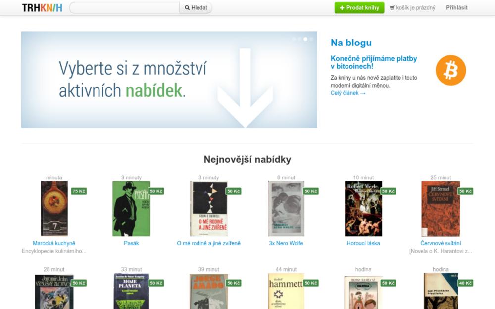 Určitě máte doma alespoň jednu knihu, kterou právě někdo shání. A kdyby věděl, že Vám doma leží v knihovně, ozval by se Vám a koupil by ji. Tak proč svoje knihy nevystavíte na internetu a nenabídnete dalším čtenářům? - Rozšířená 19, 182 00 Praha, Česká republika