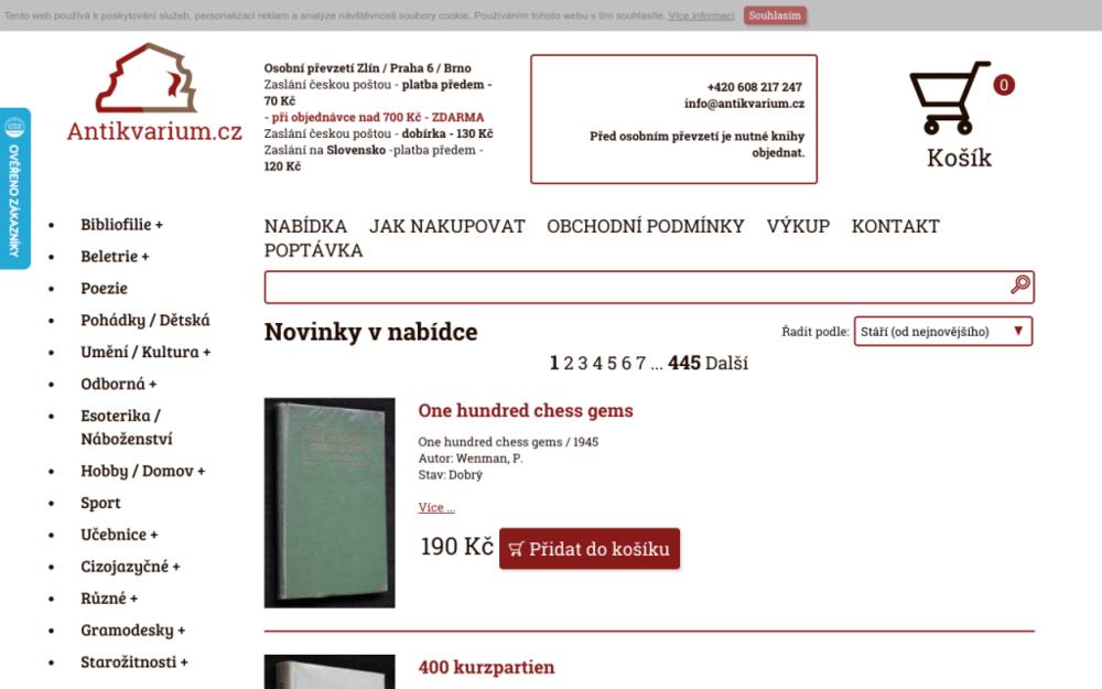 Výkup a prodej knih, starožitností a sběratelských předmětů. - Lidická 700/19, 602 00 Brno, Česká republika