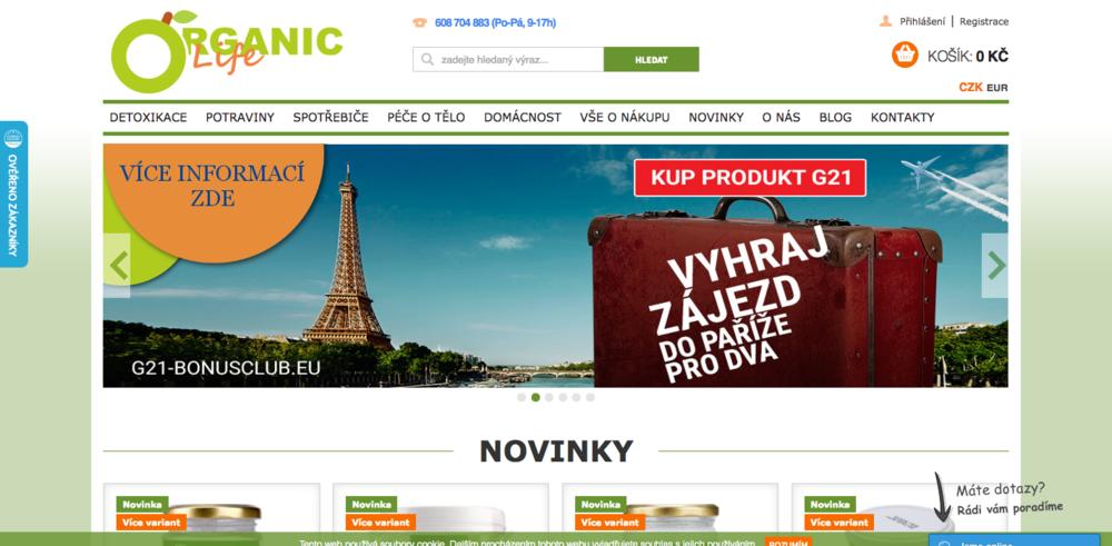 Vše pro zdraví, hubnutí, detoxikaci organismu a vitální život. Goorganic.cz je e-shop, který se specializuje na produkty Neera pro detoxikaci organismu a zdravý životní styl. Výběr zboží je založen na vlastní zkušenosti a každá položka je pečlivě vybrána. Naprostou samozřejmostí je čistota potravin. - Československé armády 60/36, Zeleneč