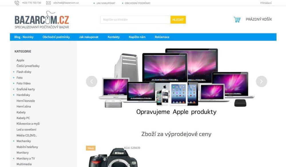 Jsme Specializovaný Počítačový Bazar od roku 1998 a jsme tu jen pro Vás.VYKUPUJEME jakékoliv zboží, počítače, elektroniku, díly apod. za hotové.PRODÁVÁME zboží se zárukou 6 měsíců ! Nikdo jiný neposkytuje takové záruky na použité zboží jako my !Přijímáme zboží do KOMISNÍHO prodeje - Postaráme se o to abychom prodali Vaše zboží co nejlépe.SERVISujeme počítače, opravujeme závady na všem co je s počítači spojené - jakýkoliv problém Vám pomůžeme vyřešit.ZASTAVUJEME jakékoliv zboží, počítače, elektroniku, díly. Půjčíme Vám peníze třeba jen na týden, nebo na měsíc a více. Okamžitě a bez dlouhého čekání.Jsme tu prostě pro Vás a vážíme si VÁS jako našich zákazníků… Nabízíme Vám super ceny.. prostě dobře koupíme, tak dobře prodáme… Aneb podělíme se s Vámi o to dobré. - Opletalova 15, 110 00 Praha, Česká republika