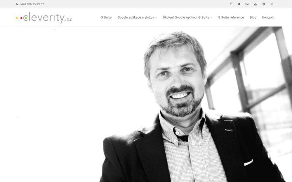 Jsem expert na G Suite pro firmy, podnikatele i velké společnosti. Rád vám pomohu nastavit, spravovat a efektivně využívat firemní balíček Google aplikací. - Na vyhlídce 332, 250 83 Škvorec, Česká republika