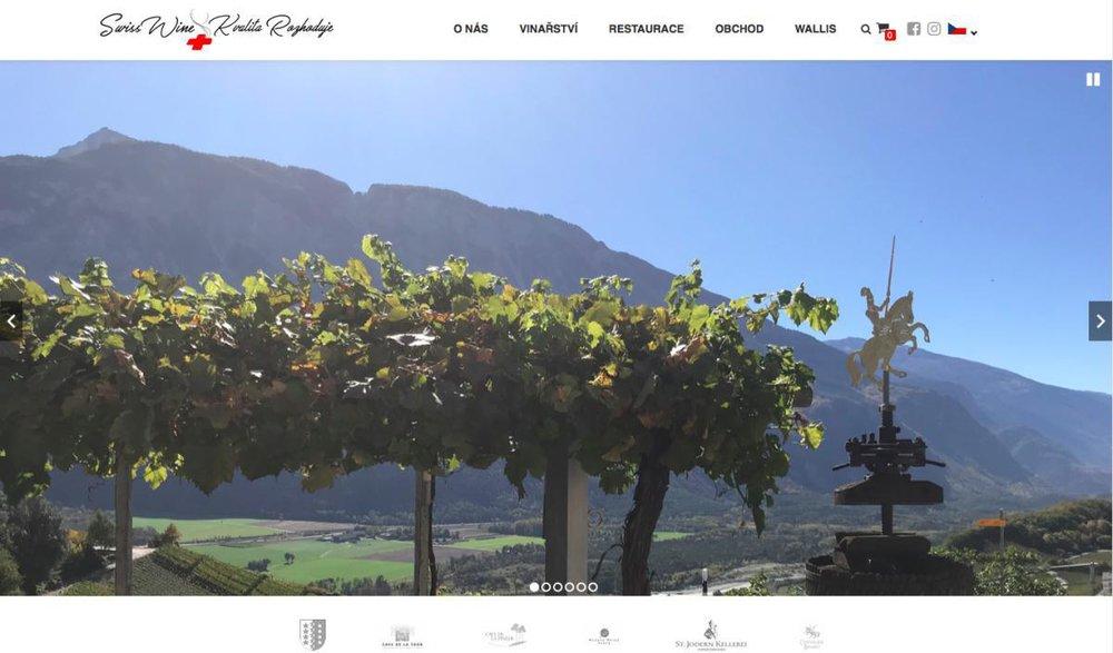 Přinášíme našim zákazníkům, milovníkům kvalitního vína, na trh moderní vína 21. století. Naše produkty pocházejí především z kantonu Wallis v jihozápadní části Švýcarska. V této oblasti bývá ročně kolem 300 slunečních dní, které zajišťují kvalitní zrání vína. O vína je postaráno tradičními výrobními procesy a letitými zkušenostmi vinařů s precizním přístupem. Nejsou to jen švýcarské hodinky, čokoláda a sýry, které vás ohromí svou chutí a kvalitou. - Stříbrná, 358 01 Kraslice, Česká republika