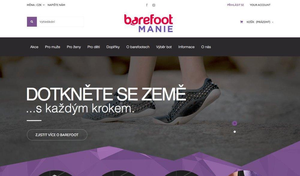 Prodáváme barefootové (zdravé ergonomické) boty. - Ing. Fr. Janečka 551, 257 41 Týnec nad Sázavou, Česká republika