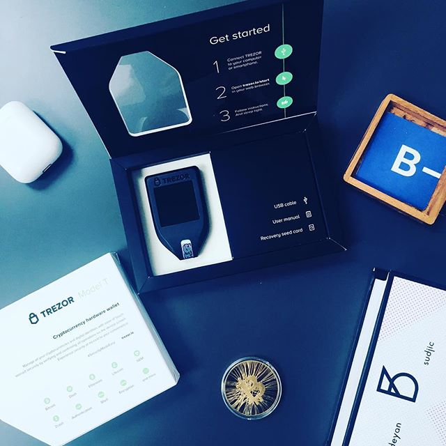 It's finally here! #trezor #trezort #crypto #cryptocurrency