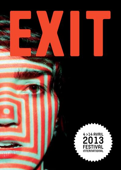 Exhibitions Exit Festival, France, 2013.