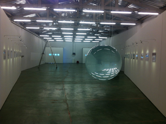 Exhibition at Central Gallery in São Paulo, Brazil.