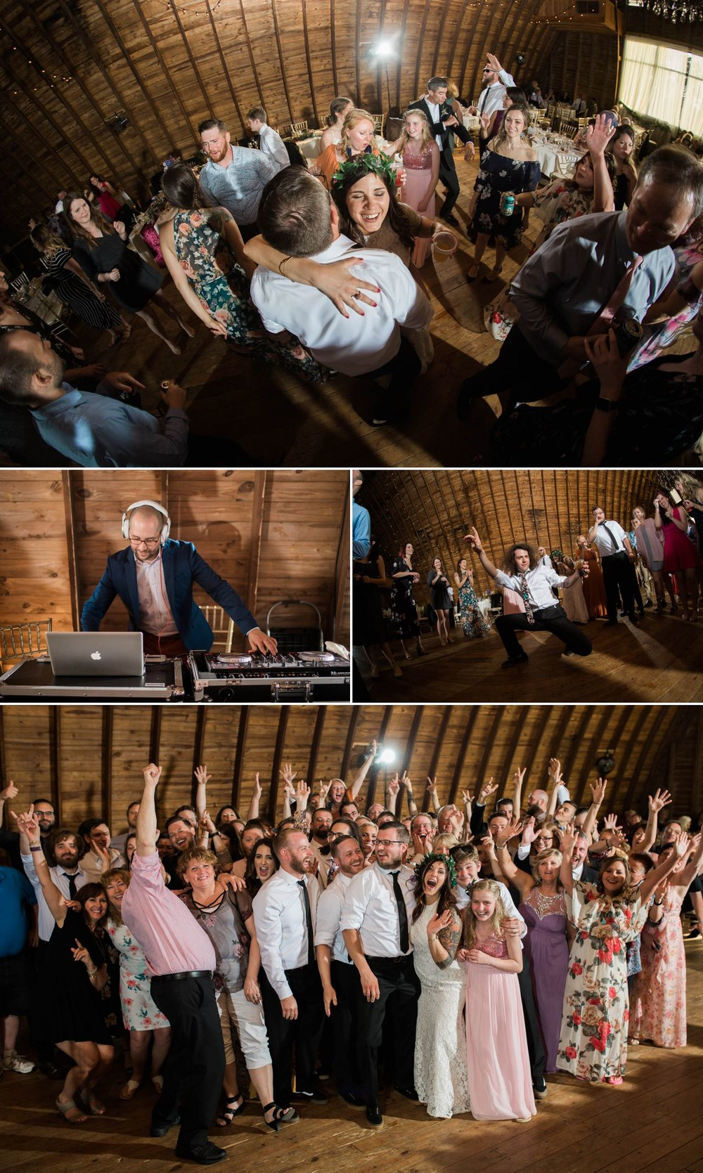 DJ Branden kept the party alive all night long! We LOVE when we get to work with him!
