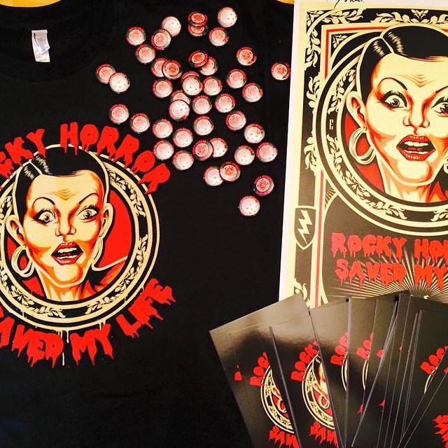 INDIEGOGO RHSML Postcards, Buttons, Posters, and T-Shirts have shipped! If you contributed to our #indiegogo campaign, you can expect to see some of these Perks very soon. Additional items to follow this week. Thanks for your patience! #rhsml #rockyhorrordoc #rhps #crowdfund #rockyhorror #rhps40