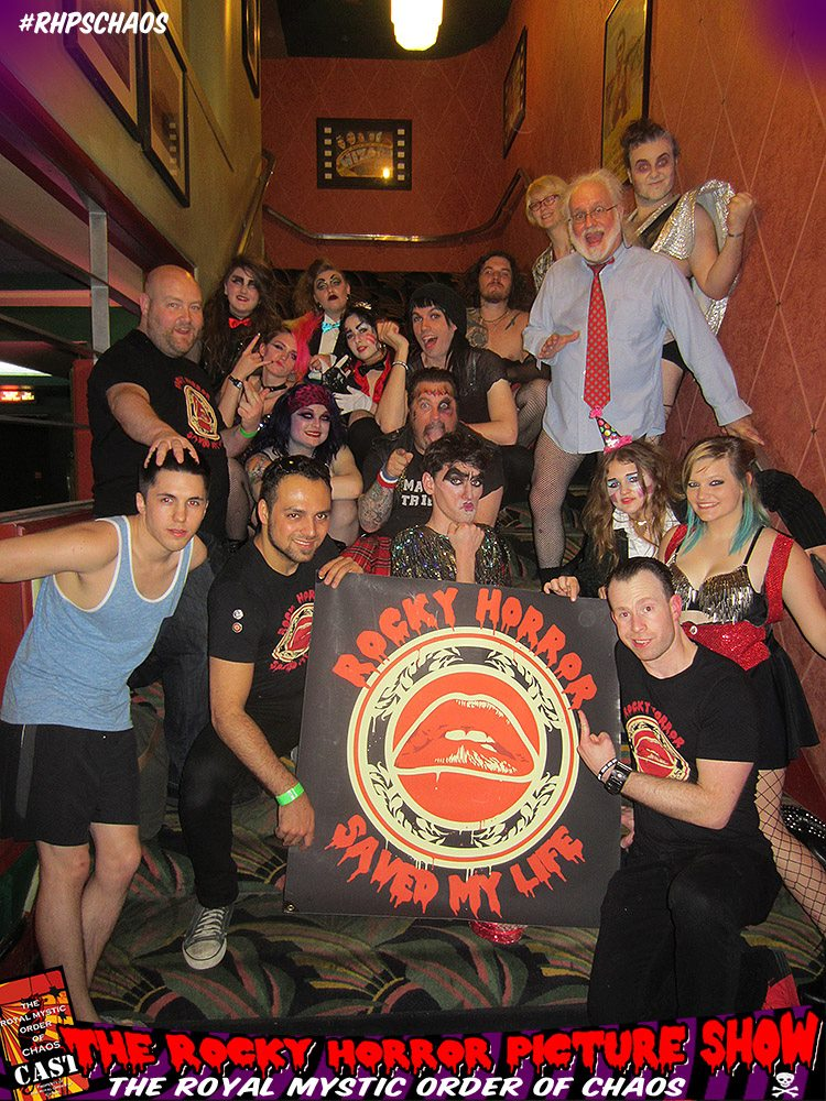 The crew posing with our friends from  The Royal Mystic Order of Chaos