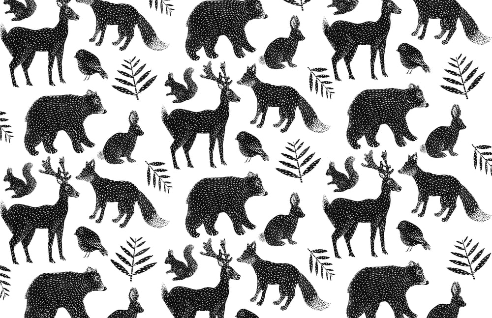wrapping paper pattern rachel frank
