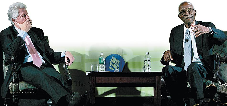 Bill Clinton + John Hope Franklin