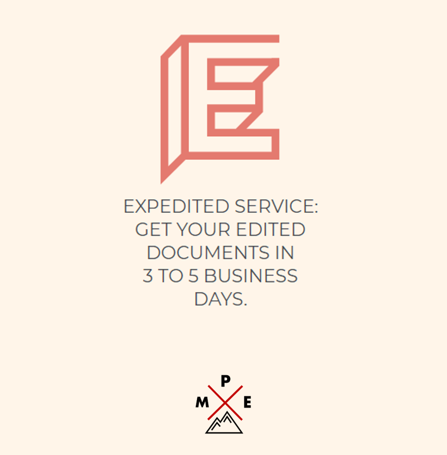 Expedited Medical Editing Service