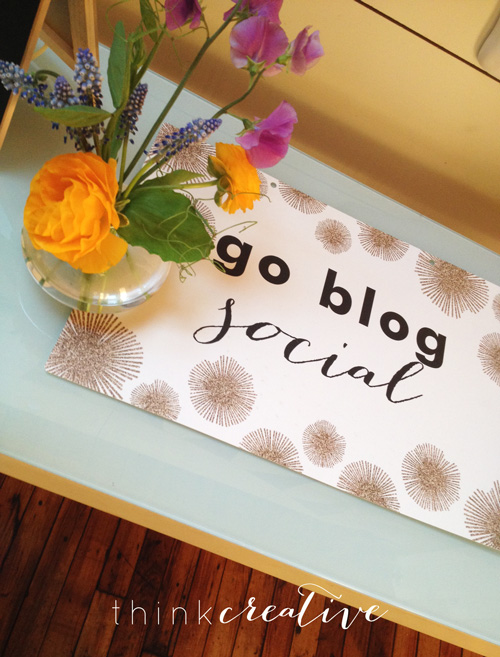 THE BlogCon – Recap: Go Blog Social  |  Think Creative