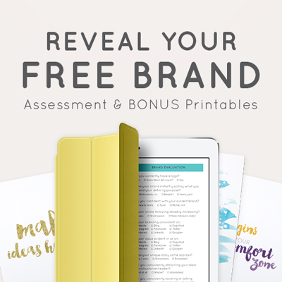 FREE Brand Assessment & Bonus Printables  |  Think Creative