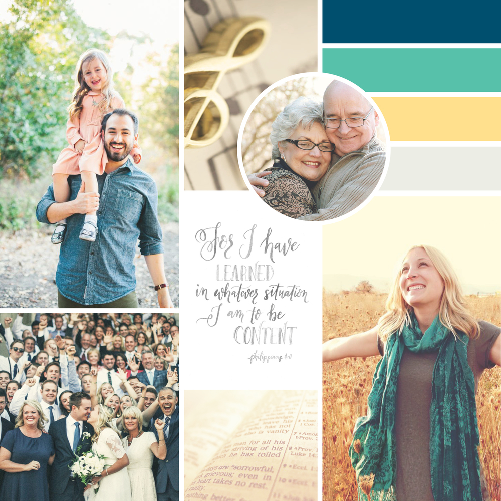 Summit Grove Community of Christ Inspiration Board  |  Think Creative