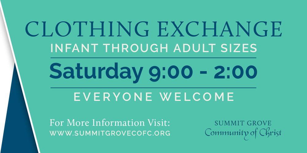 Yard Sign  |  Summit Grove Community of Christ