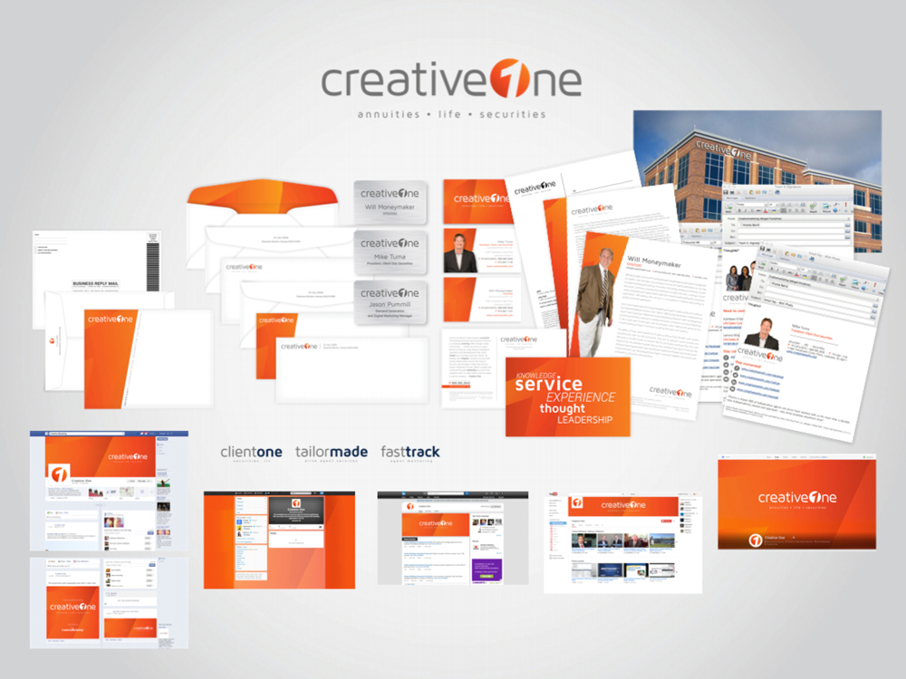 CreativeOne Complete Rebrand  |  Think Creative Collective