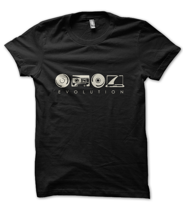 Alan Fraze  |  Evolution T-Shirt  |  Think Creative Collective