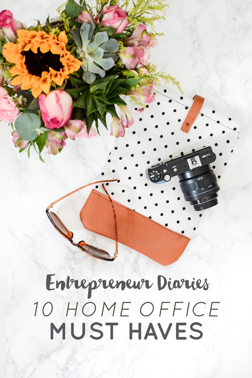 Every home office is different. And depending on your expertise you will need to surround yourself with things that make you productive, happy and inspired. Emylee and I have pretty similar needs/wants/desires, but that doesn't mean our top 10 must haves are the same. Check out how our lists differ.  |  Think Creative