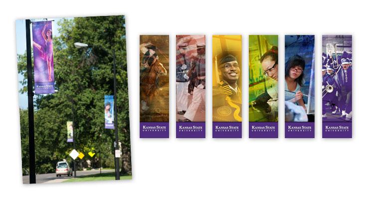 Kansas State University Campus Banners  |  Abagail Pumphrey