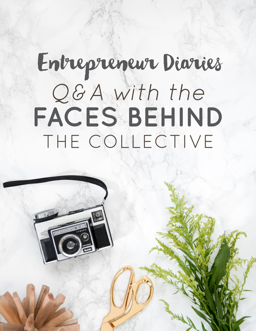 Entrepreneur Diaries: Q&A with the Faces Behind the Collective  |  Think Creative