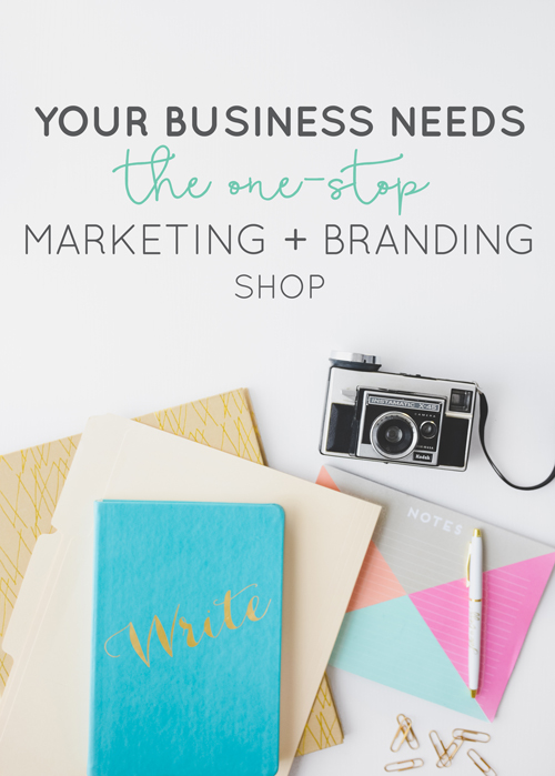 See why offering a one-stop marketing and branding shop is the thing your business needs. Check off your business building checklist with our services! | Think Creative Collective