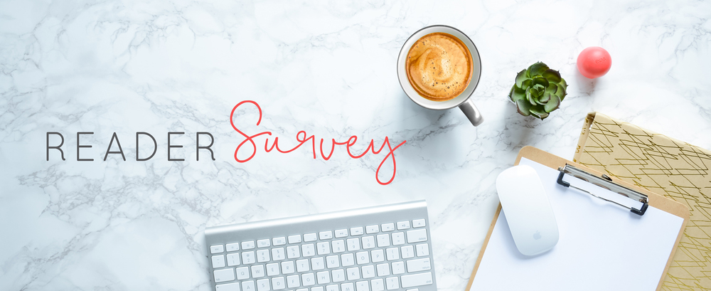 Pre-Launch Reader Survey  |  Think Creative Collective