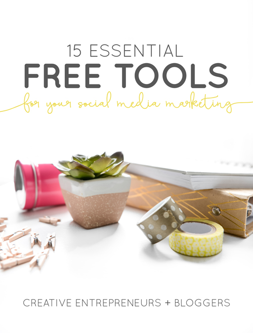 15 Essential Free Tools for Your Social Media Marketing | Think Creative Collective