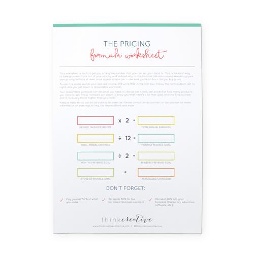 Pricing Formula