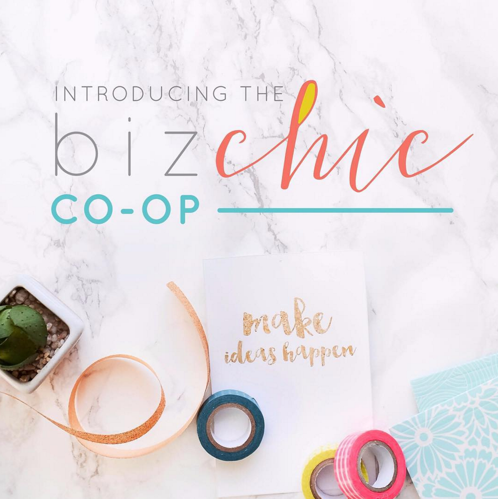 Introducing Biz Chic Co-op, an exclusive members only business toolbox | Think Creative Collective
