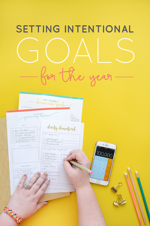 You know that you should set goals so you do, but then that's it. Nothing really changes. So what gives? | Think Creative Collective