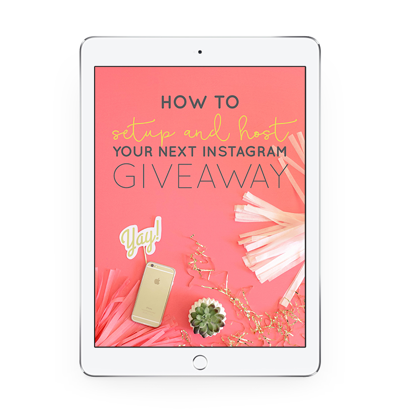 How to Setup & Host Your Next Instagram Giveaway