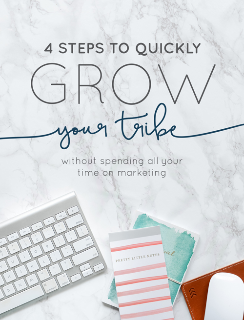 4 Ways to Steps Your Tribe Without Spending All Your Time on Marketing