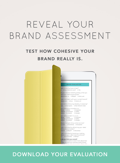 Reveal Your FREE Brand Assessment  |  Think Creative Collective