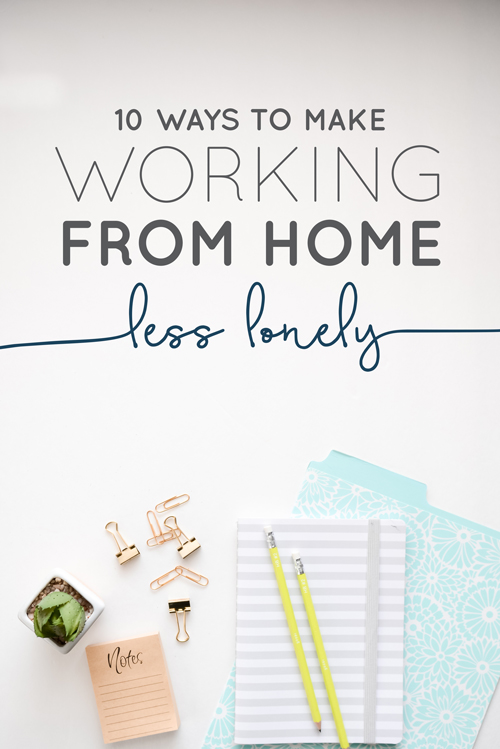 "So you work from home and at first you're all ""fist pump, I never have to put on pants or see people!"" but then over time it turned into ""I haven't put on pants or seen human beings in 9 days"". We get told all the time (and we believe) that we are so lucky to get to work from home, so it's hard to complain about that luxury. However, there are perks (that may not seem like perks) of a traditional workspace that we miss out on.  